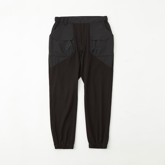 SOLOTEX FLANNEL JOGGER PANTS - BLACK