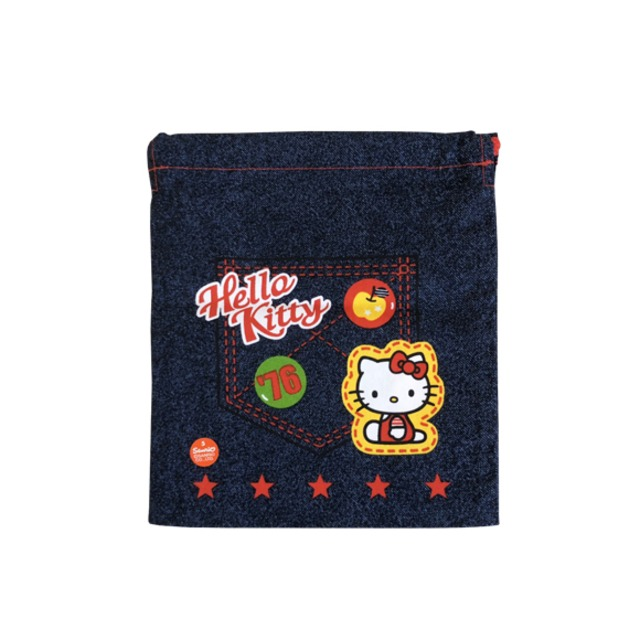レトロキティ 巾着袋【2000年_レアグッズ】