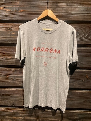 Norrona  /29 cotton legacy T-Shirt  G.Melange  Sサイズ