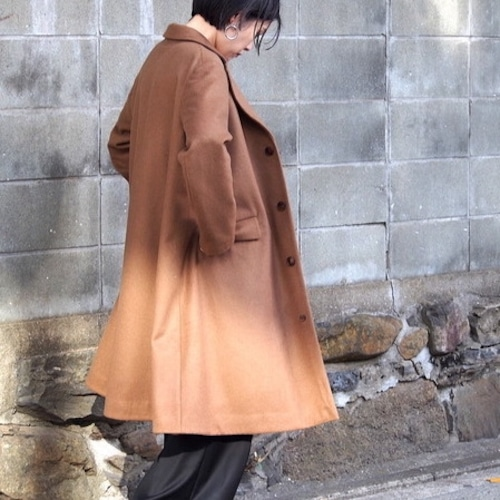 【hippiness】atelier coat (brown)/【ヒッピネス】アトリエコート(ブラウン)