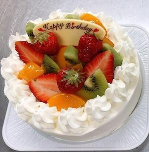 デコレーションケーキ生クリーム5号