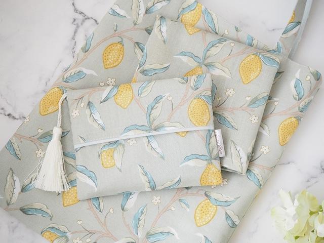 【完売】6th記念「レモンのお散歩bag 3点set」☆ご予約品