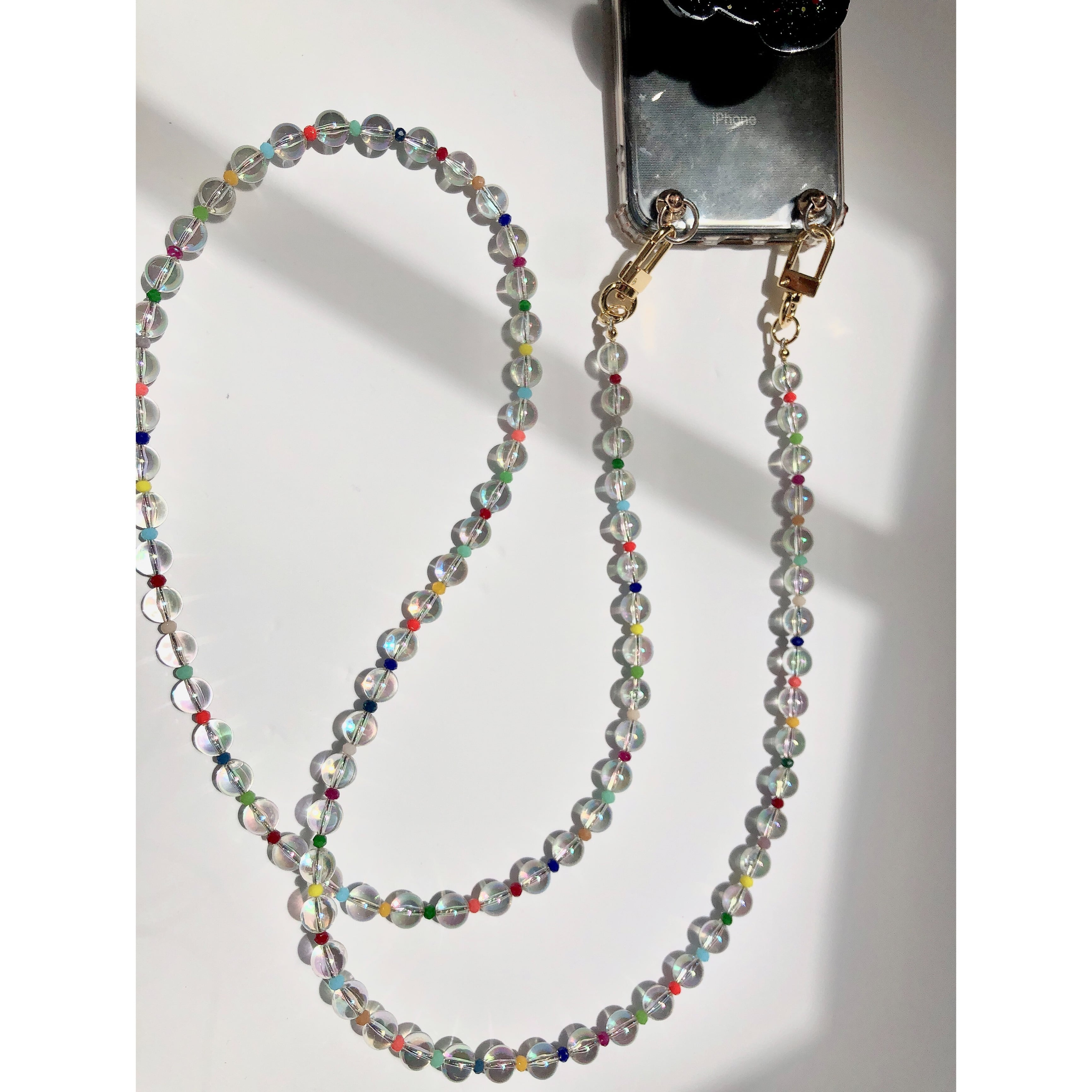 COLORFUL CLEAR MIX STRAP