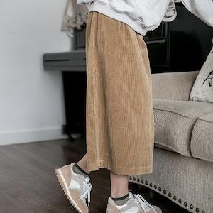 Corduroy simpler skirt(コーデュロイシンプルスカート)a-840