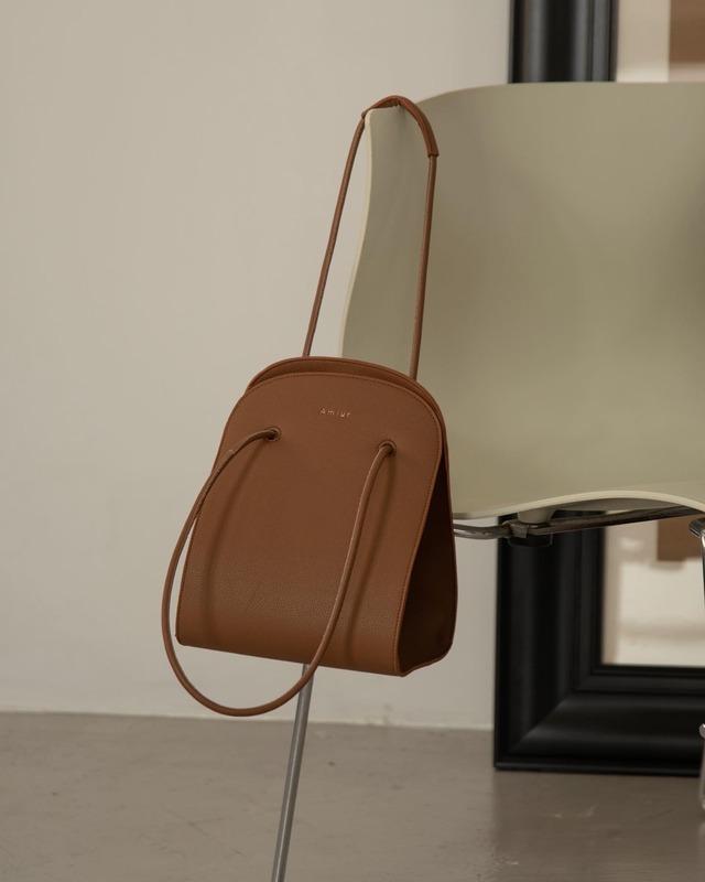 oval two type shoulder bag