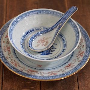 『ボウル15センチ/Blue&White』景徳鎮/ホタル