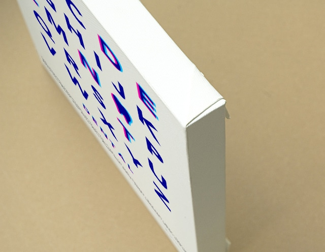 Typography(DENTAL) キャンバスプリント(B3サイズ・木製パネル貼り)
