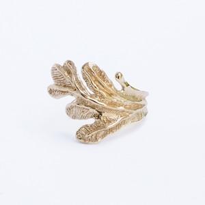 conoa (コノア) みずくさの指飾り gold