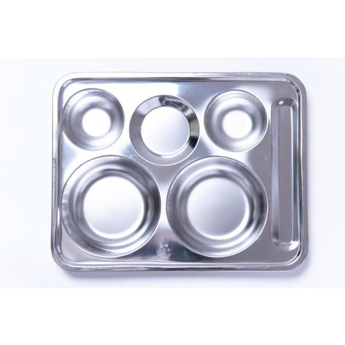韓国ステンレス食器/プレート【縦29.3㎝×横37.3㎝】