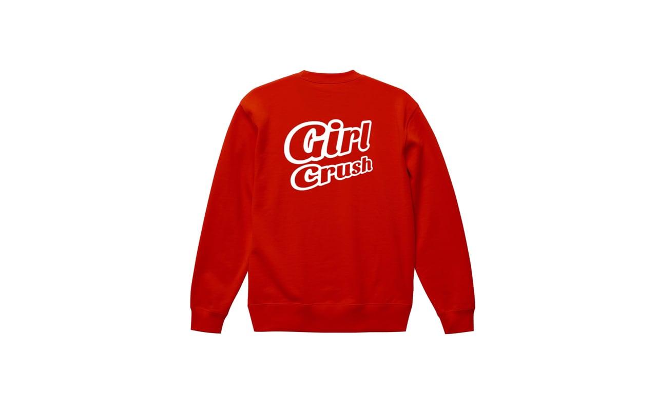 coguchi girl crush sweat (red/wh)
