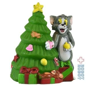 トムとジェリー クリスマスツリー ソフビフィギュア