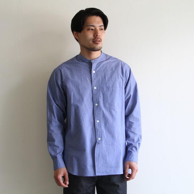 STILL BY HAND【mens】stripe coach jacket