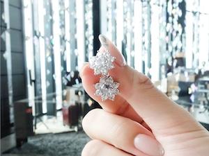 flowery  diamond pierce