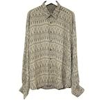 Dead Stock 90's phiz Jacquard Rayon Shirt【1】