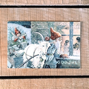 クリスマスカード「Jenny Nyström(イェニー・ニィストルム)」《200224-01》