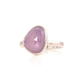 Sapphire candy ring / PU triangle