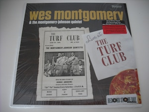 """【10""""】WES MONTGOMERY / LIVE AT THE TURF CLUB"""