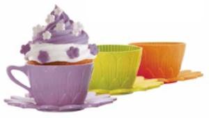 デイジーカップケーキ2コ入り-パープル FRT181LI3