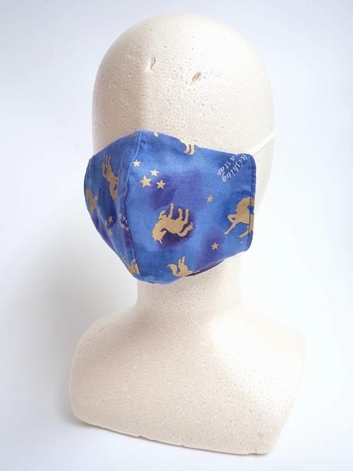 ユニコーン冷感ガーゼマスク 耳が痛くないマスク 冷感素材 フィルター交換式
