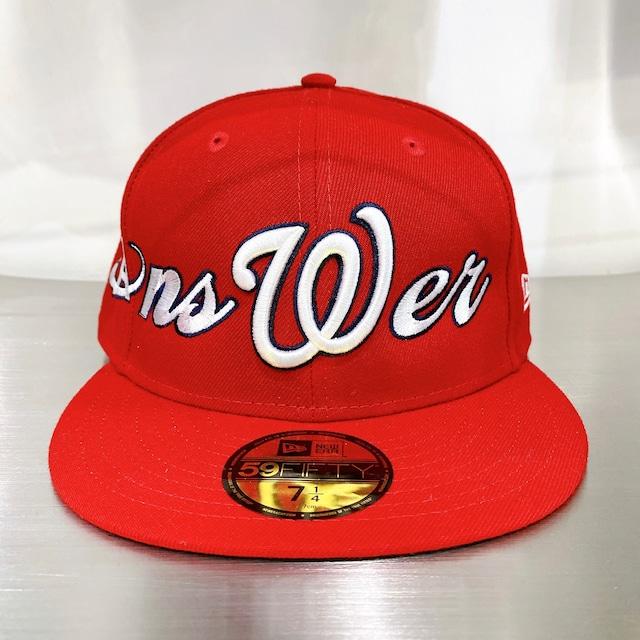 ANSWER × NEW ERA / CUSTOM BASEBALL CAP