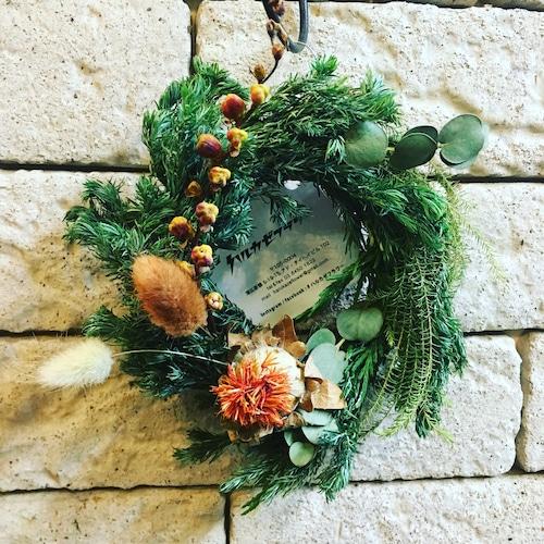 小さめグリーンのWreath