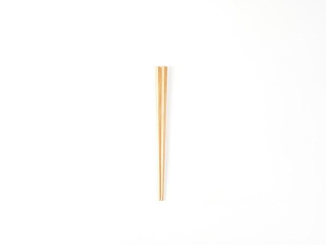 斧折樺のこども五角箸|16cm