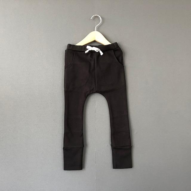 arkakama BASIC Sarouel Leggings ( BLACK )  XL/XXL  AKL00012 ※一枚までメール便可