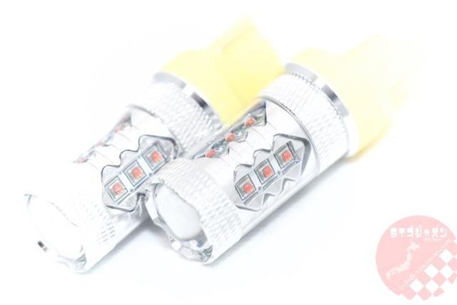 T20シングルアンバー LEDバルブ 80Wモデル / T20single amber LED bulb 80W model
