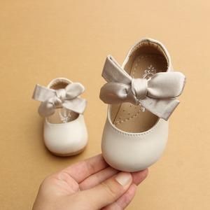 11-16cm子供靴 1-3才 キッズ シューズ パンプス レザーシューズ 幼児 柔らかく 快適 革靴 赤ちゃん ベビー靴 女の子 女児 子ども7809