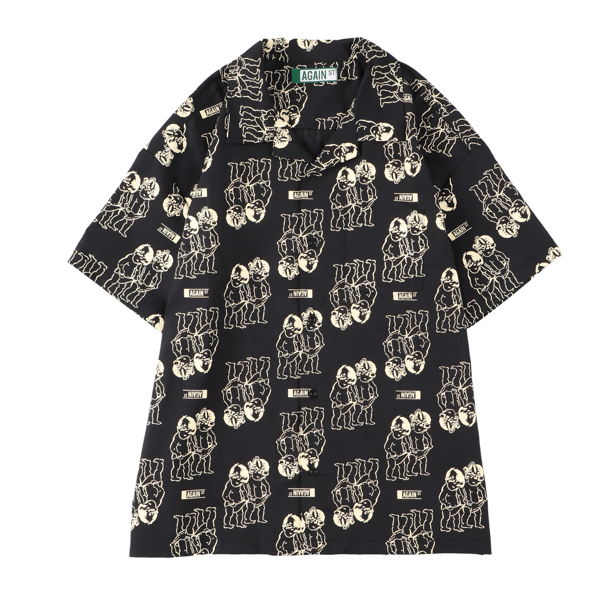DISCOVERY SHIRTS S/S / BLACK