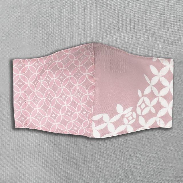 デザイナーズ マスク|花咲く七宝