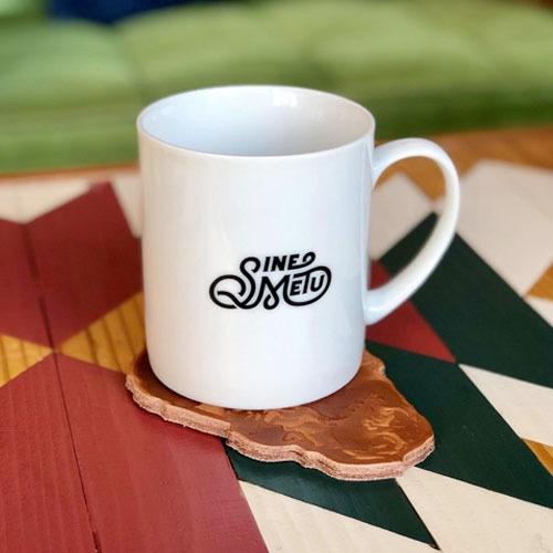 ロゴマグカップ / ホワイト   SINE METU - シネメトゥ