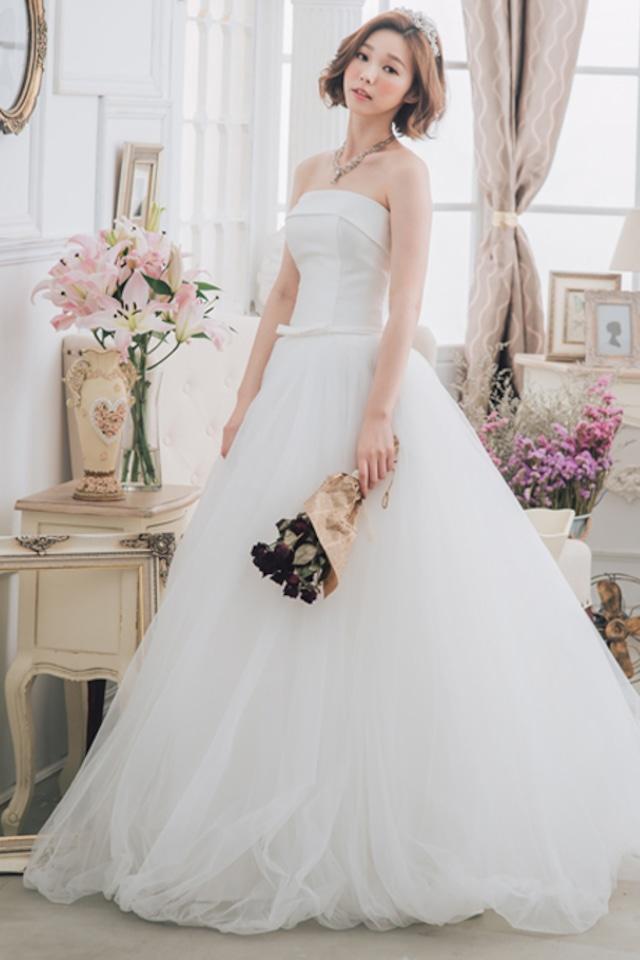 ウェディングドレス  挙式 結婚式 妊婦ドレス パティー 披露宴 2次会