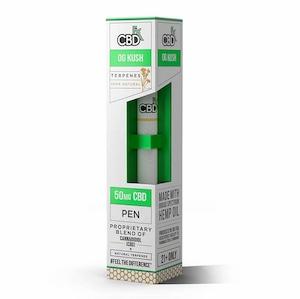 【定期お得便】CBDfx OGクッシュ - CBD Terpenes Vape Pen 50mg