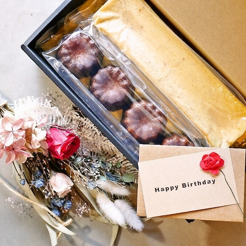 メッセージカード付き:カヌレとチーズケーキのセット【GATEAU  ENSEMBLE】(スイーツ デザート チーズケーキ)の商品画像6