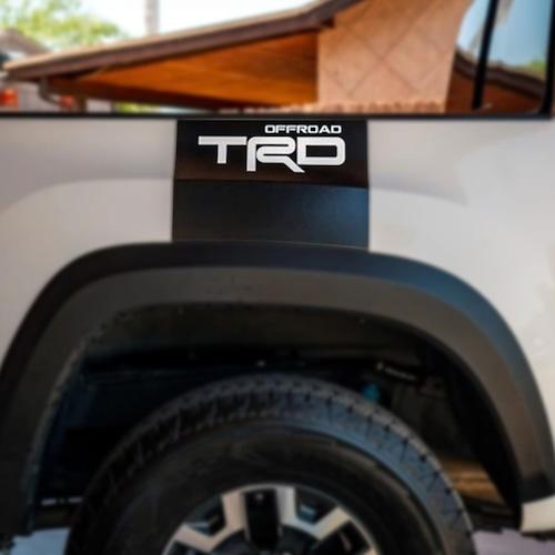 【 TacoVinyl 】 TRD Rear Bed Decal