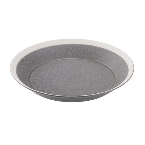 yumiko iihoshi porcelain(イイホシ ユミコ) Dishes プレート220 moss gray matte