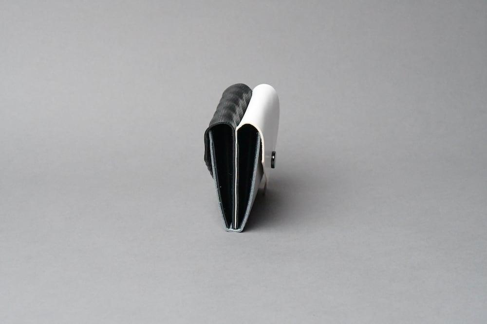 Double Flap ダブルフラップ W □WH-LG-BK□ - 画像3