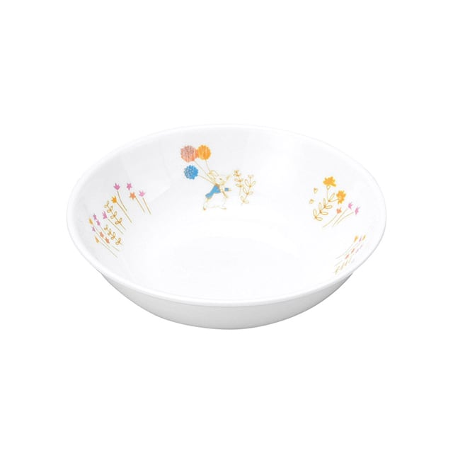 ピーターラビット 強化磁器 12.5cm 深小皿 アドベンチャー【1159-7110】