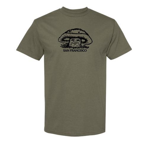 Western World / Mushroom Man Tee / Army / L