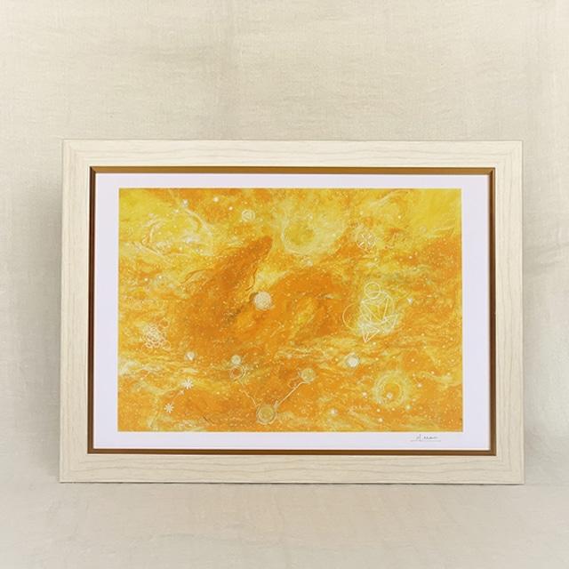 龍脈を呼び込む「龍脈画」 A4サイズ