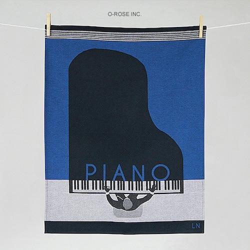 ティータオル ピアノ