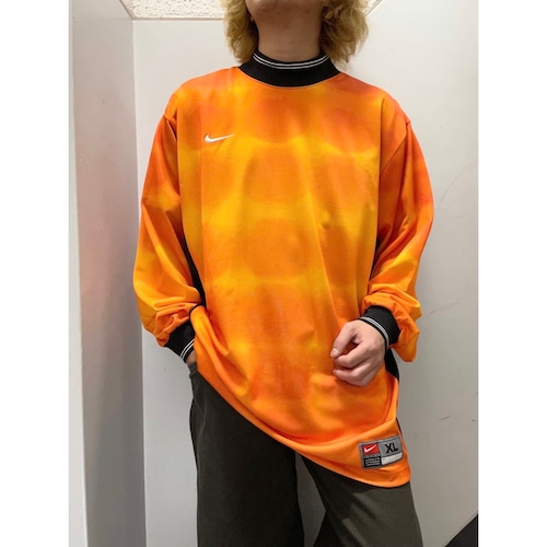 90's NIKE 総柄ゲームシャツ