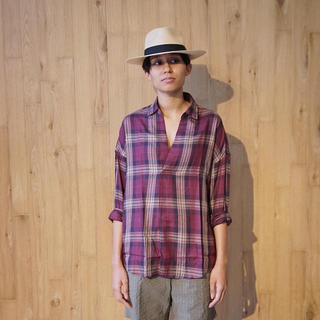 COLONY CLOTHING / POOL SIDE SHIRT PLAID CHECKS / CC21-SH02-3(SALE)
