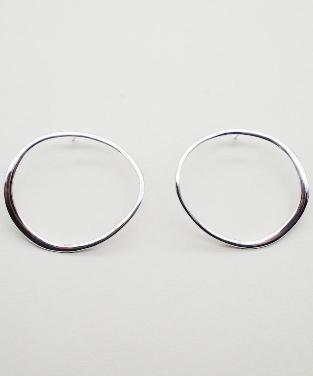 【blanc iris/ ブランイリス】Whirlpool collection Sterling Silver Pierce / ピアス