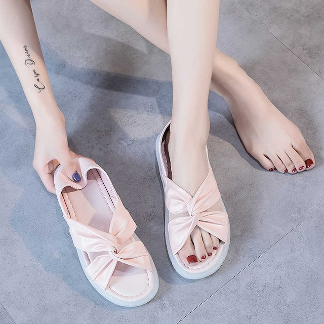 【ZUOYOUKEシリーズ】★サンダル★3color 靴 カジュアル PU 白 ピンク 黒 夏 サイズ35-42