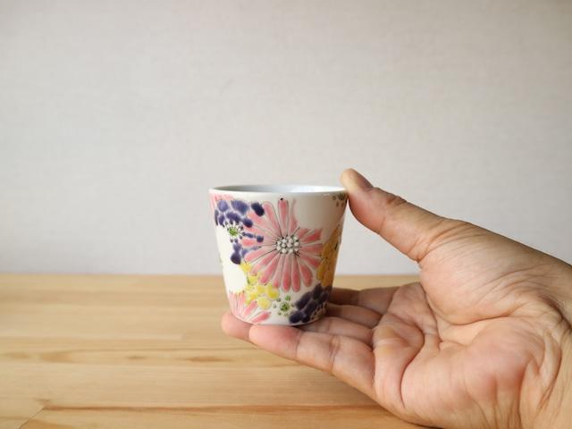 彩花 酒杯