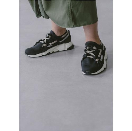 【RehersalL】suede belt sneakers(gray) /【リハーズオール】スエードベルトスニーカー(グレー)