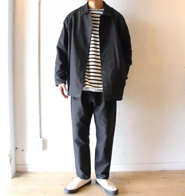 LAMOND (ラモンド)/ Double Weave Tapered Trousers(ダブル ウィーブ テーパードパンツ)