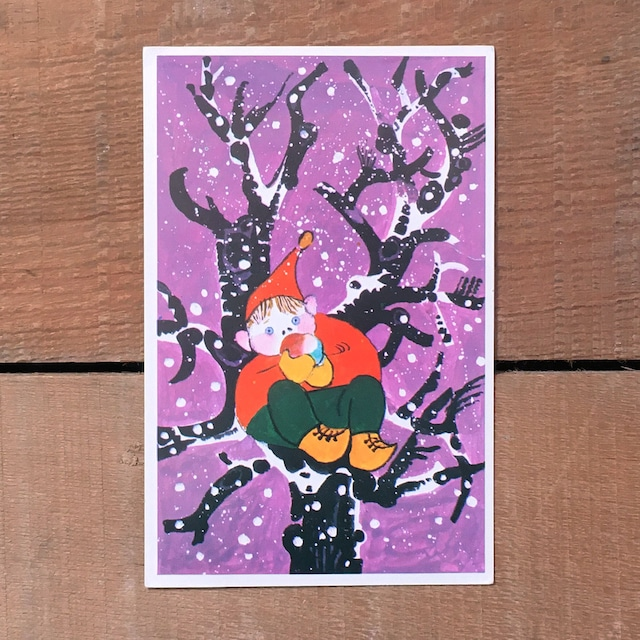 クリスマスカード「Per Beckman(ペール・ベックマン)」《201123-01》